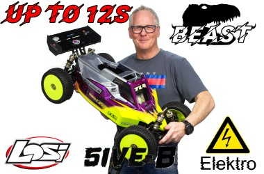 Losi TLR 5ive-BEAST 1:5 Electric 4WD Buggy Race Kit incl