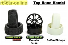 HURRAX extreme Race tires + HR0014 Hurrax-Modular Race rim set