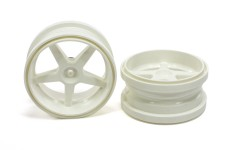 6105/01 FG Widened rim 1:6 white, with reinforcement ring