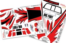 6195 FG Vehicle decals for Stadium + Monster-Truck, set