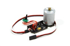 DM4000/05 Servo motor and electronics, with cable for K-Powe