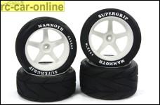 y0580 Mammoth Supergrip für 1:6er und 1:5er Offroader v