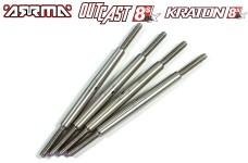 AKX160S/SH GPM Spurstangen/Sturzstangen für Arrma Krato