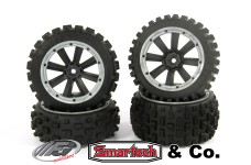 y1402/01 MadMax CROSS BOND 170x80/x60 tires for FG/Smartech