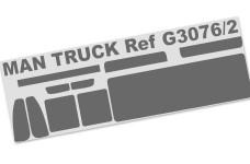 3076/02 FG Scheibenfolie MAN-Truck