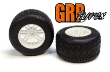GWH44E Ellegi Formula 1 profile extra soft rain rear tires,