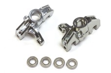 LOS354013 Losi Front Spindle set Aluminium for Super Rock Re