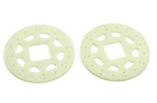 1000-40 Mecatech brake rotors, 2 pcs.