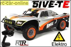 Losi 5ive-T-E AVC 4WD Elektro Off-Road Truck RTR