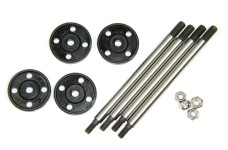 LOS253005 FR/R Shock Shaft & Piston Set Losi DBXL+MTXL 1