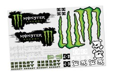 y3013 Monster Energy Sponsorbogen universal