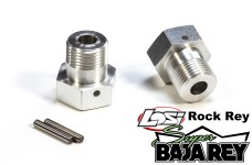 TT1040 Top Tuning 24 mm hex wheel drives for Losi Super Baja