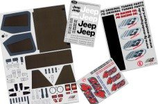 46155 FG Vehicle decals Jeep 4WD