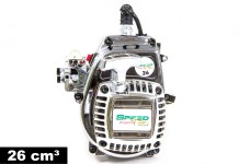 y0796 SPEED TEC EXPERT Tuning Motor Chrom-Edition 26 cm&sup3
