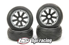 y1463/01 MadMax SUPER GRIP 170x80/x60 for HPI+Losi & Co.