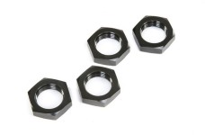LOS252098 Losi Wheel Nuts, Black, 5ive-T 2.0