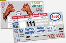 y3060 Team-Dekorbogen MB 1834-Truck