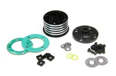 LOS252066 Losi Differenzialgehäuseset , Aluminium, DBXL