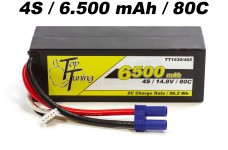 TT1530/465 Top Tuning 6500 mAh LiPo battery 4S, 14,8V 80C