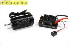 y1498/01 Tenshock TS X-501 Brushless Motor 750KV mit Hobbywing EZRUN MAX5 V3 1:5 Brushless Regler