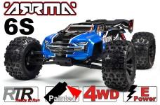 ARA8608V5T2 KRATON 1:8 6S V5 4WD BLX Speed Monster Truck mit