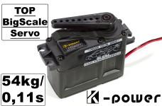 K-Power DM4000 Servo 54kg-cm/0,11 s/6 Volt bis 8,4 Volt