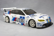 8180 FG Body set BMW M3 ALMS, clear 2 mm for 530/535 mm whee