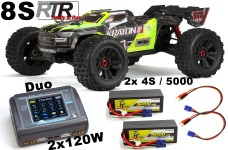 ARA110002T1 ARRMA 1:5 KRATON 4X4 8S 2.0 BLX Brushless Speed