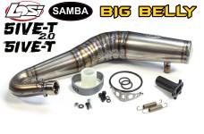 4832 Samba BIG BELLY Titan Tuning Resonanzrohr für Losi