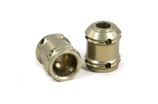 LOSB3221 Losi Pinion Coupler Set, Aluminum Hard Anodized, Lo
