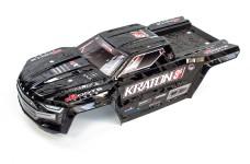 ARA409008 ARRMA KRATON 8S Karosserie, schwarz