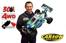 500304031/01 Carson 1:5 Dirt Attack GP 3.0, 30 ccm Motor mit
