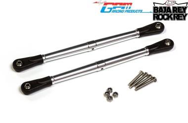 SB014-BEBK GPM adjustable upper trailing arms Losi Super