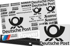 y1329/01 Team-Dekorbogen Post für BMW 320si WTCC
