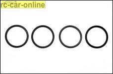 y0391 Ersatz Silikon O-Ringe für Samba Krümmer
