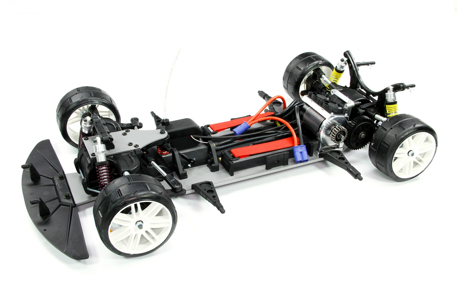 rc electric fg sportsline 4wd parallel porsche series 962c elektro ht edition batteries connection 2x 3s recommend 6s mustang painted