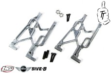 TT1002 Top Tuning Aluminum rear a-arms Losi 5ive-B and Mini
