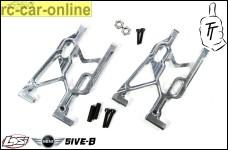 TT1002 Top Tuning Hintere Alu-Querlenker für Losi 5ive-B und Mini