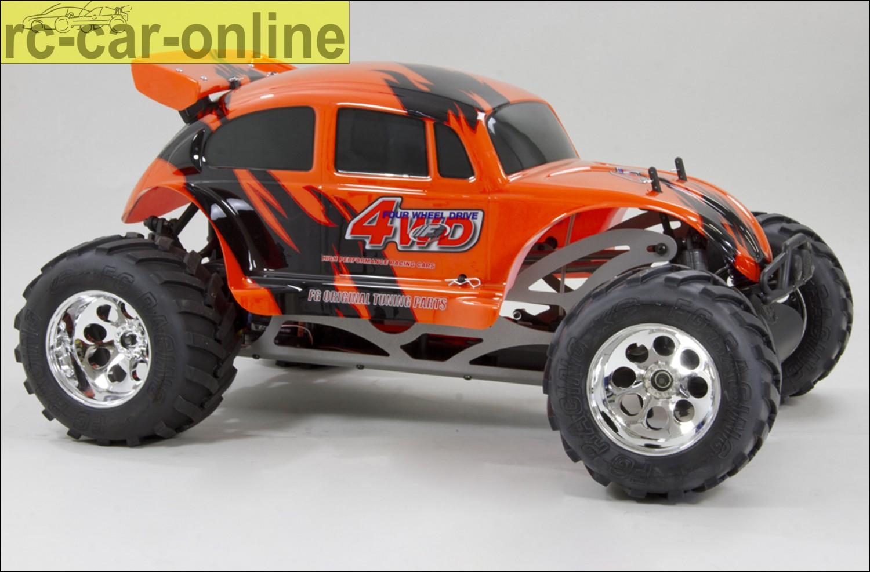 fg monster beetle elektro 4wd electric rc car allrad. Black Bedroom Furniture Sets. Home Design Ideas