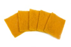 y0544 Schleifvlies Gold Microfine Pads, 100 x 80 mm