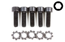 y0757 Special exhaust manifold screw set, 5 pcs.