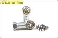 y1107 Stahlkugelgelenke 5mm/M8, mit Kegelscheiben