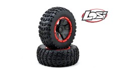 LOS45004 Left & Right Tire Premounted Losi DBXL 1/5 4WD