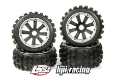 y1406/01 MadMax BIG DIGGER 170x80/x60 for HPI + Losi (24 mm