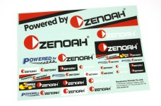 y3010/01 GenuinePowered by Zenoah decals set