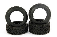 y1413 MadMax OVER LANDER one pair front and one pair rear