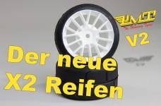 PMT-Supreme Profil Reifen verklebt X2 V2