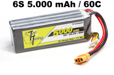 TT1530/650 Top Tuning 5000 mAh LiPo Akku 6S, 22,2V 60C Angeb