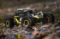 LOS03009T1 Rock Rey 4WD RTR mit AVC, gelb 1:10