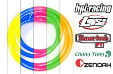 y0305 Colored flexible fuel line, top quality, 1 meter